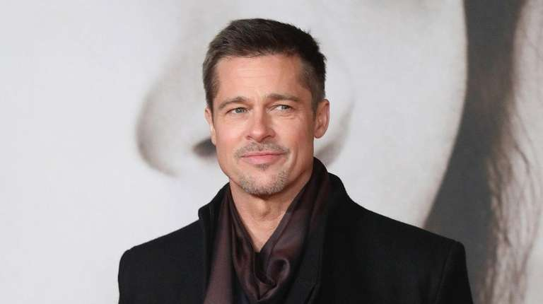Brad Pitt attends the U.K. premiere of