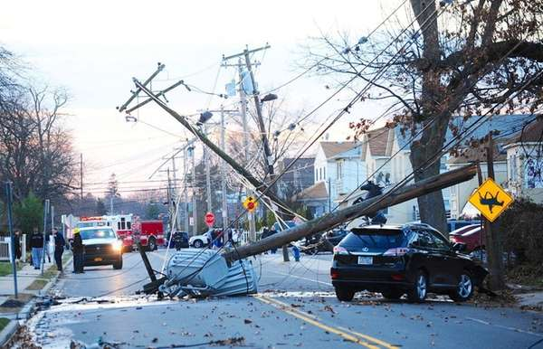 Eagle Avenue in West Hempstead reopened late Thursday,