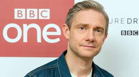 Martin Freeman attends a screening of the BBC's