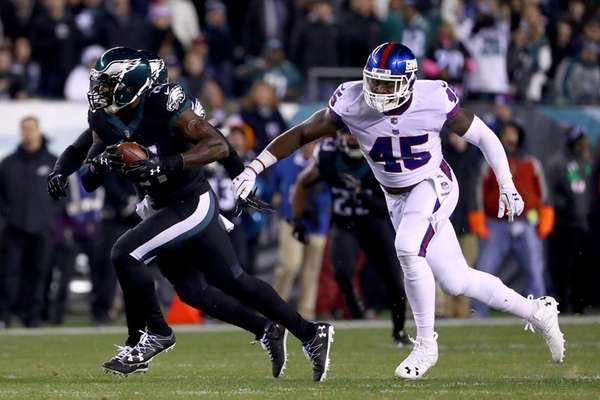Strong safety Malcolm Jenkins #27 of the Philadelphia