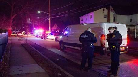 Police in Freeport investigate a shooting Thursday night,