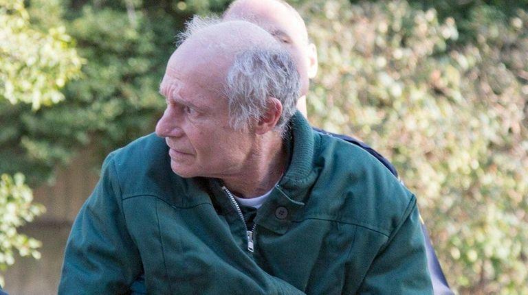 Marshall Hubsher, 67, seen outside Nassau County Court
