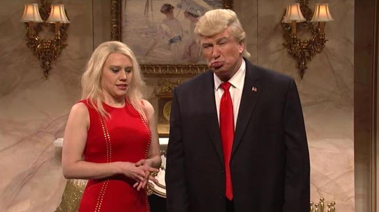 Alec Baldwin, in his Donald Trump persona, next