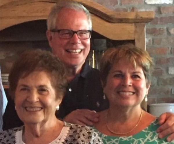 Bill and Karen Kunz of Malverne with her