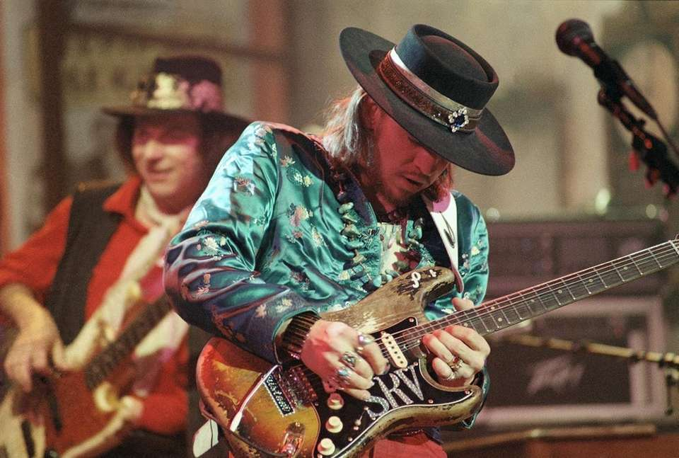 Stevie Ray Vaughan, one of the most influential