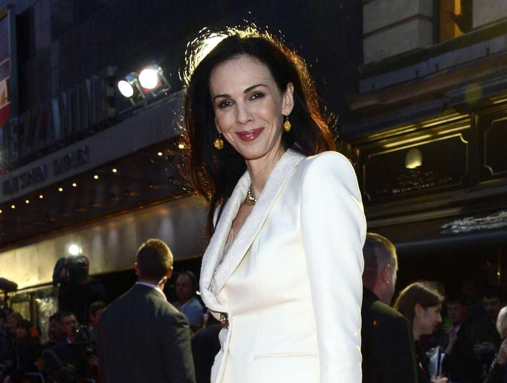 Designer and former model L'Wren Scott was found