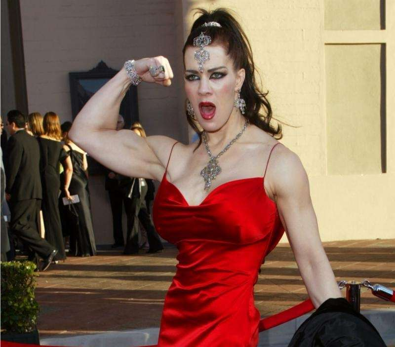 Chyna, the tall, muscle-bound, raven-haired pro-wrestler who rocketed