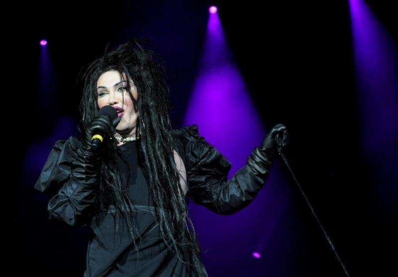 Pete Burns, singer with the British band Dead