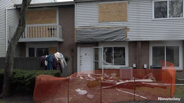 Fifteen residents of a Holbrook condo complex were