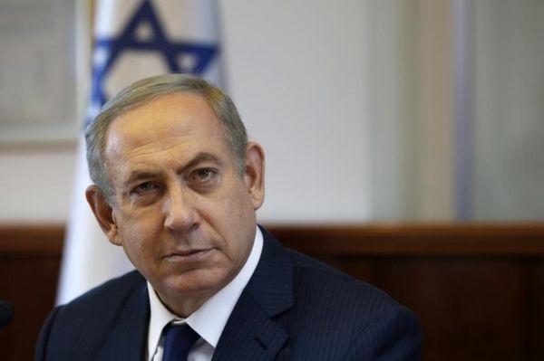 Israeli Prime Minister Benjamin Netanyahu attends the weekly