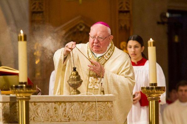 Bishop William Murphy, who is retiring after 15