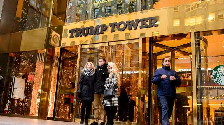 Trump Tower has become a must-see for many