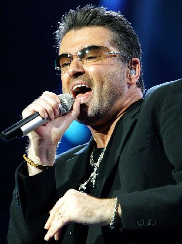 George Michael, pictured performing in Athens in 2007,