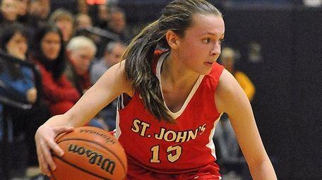 Cara McCormack #15 of St. John the Baptist