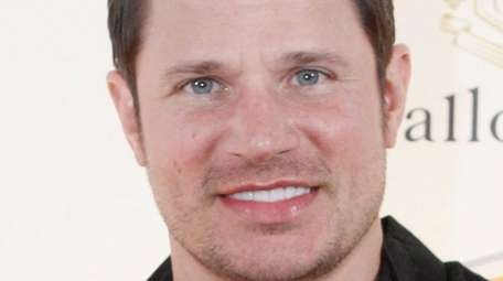 Singer Nick Lachey and his wife, Vanessa, welcomed