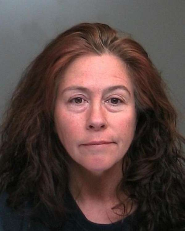 Veronica Valentine, 50, of Ronkonkoma was arrested and