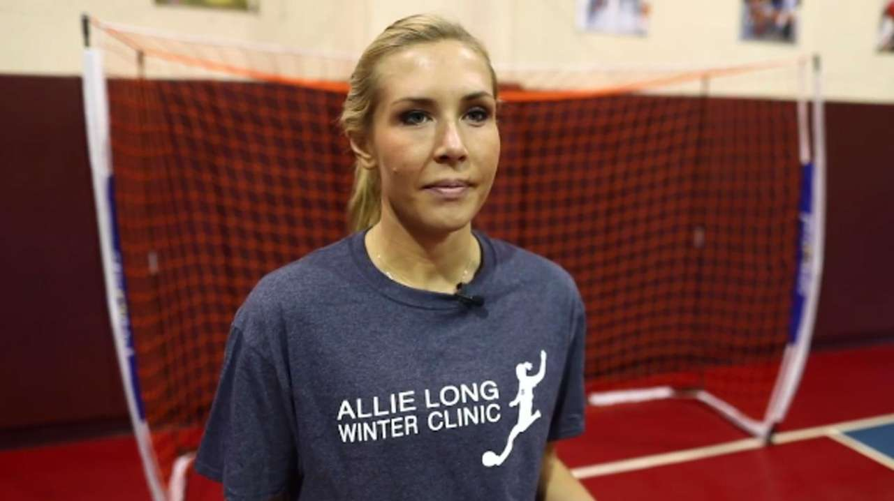 Northport's Allie Long, a member of the U.S.
