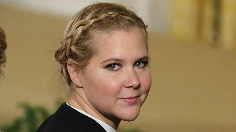 Amy Schumer at the White House on Jan.