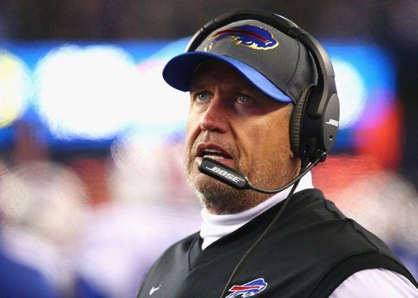 Head coach Rex Ryan of the Buffalo Bills