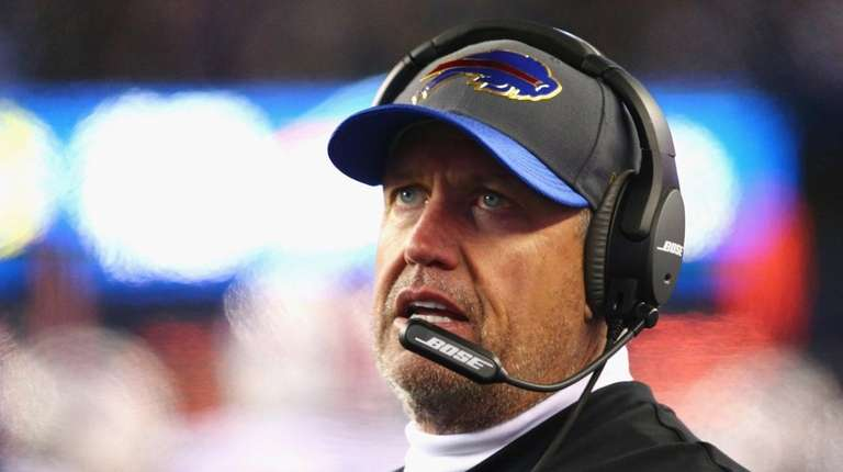 Head coach Rex Ryan of the Buffalo Bills