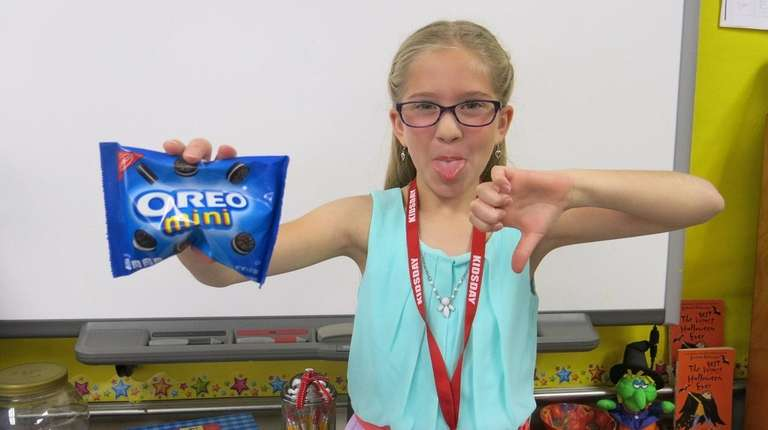 Kidsday reporter Cecelia Albertina does not like chocolate.
