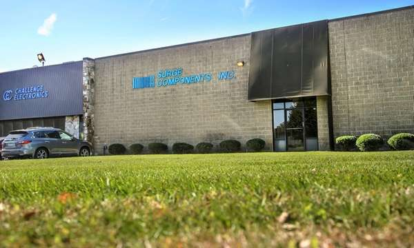 Surge Components' Deer Park headquarters is seen in