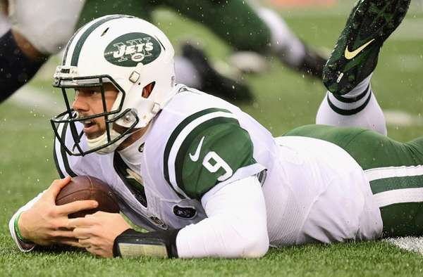 Bryce Petty #9 of the New York Jets