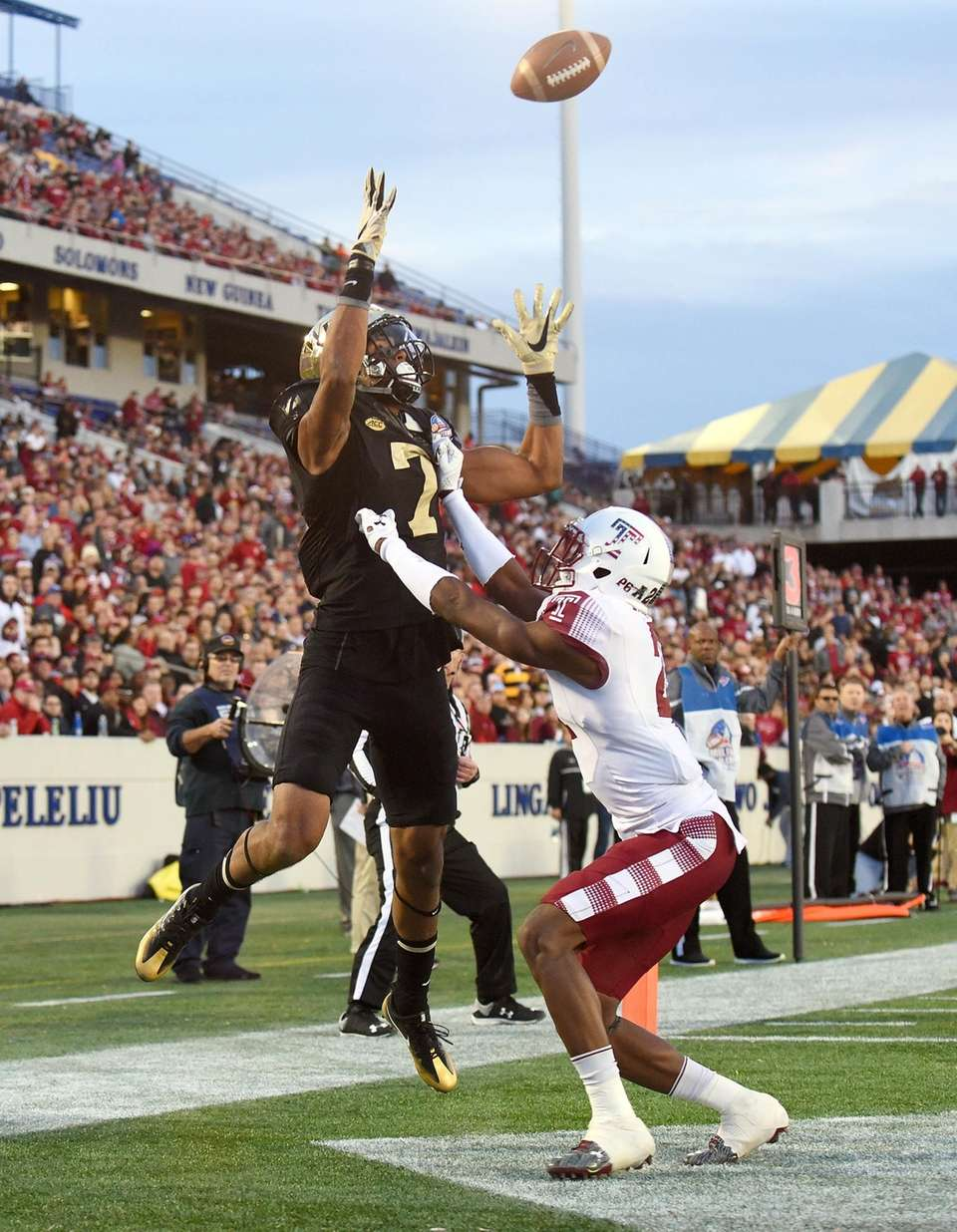 Wake Forest 34, Temple 26 Date: Dec. 27,