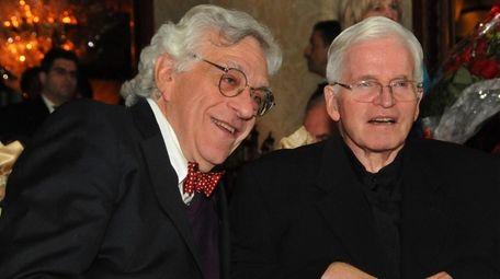 Rabbi Marc Gellman, left, sat with Father Tom