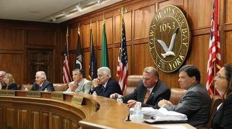 The Oyster Bay Town Board has approved spending