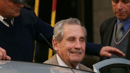 Ex-Gen. Gregorio Álvarez, seen in 2007, was responsible