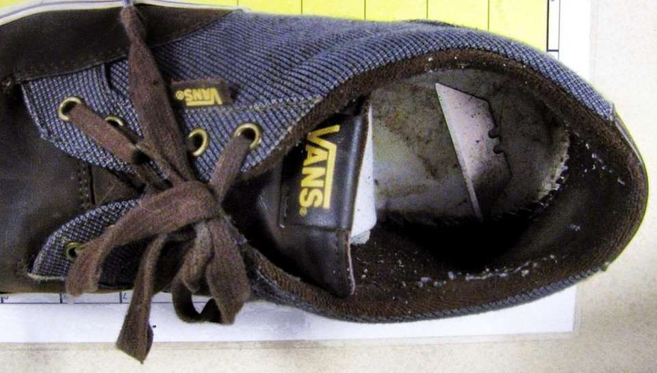 tsa The owner of this shoe was literally