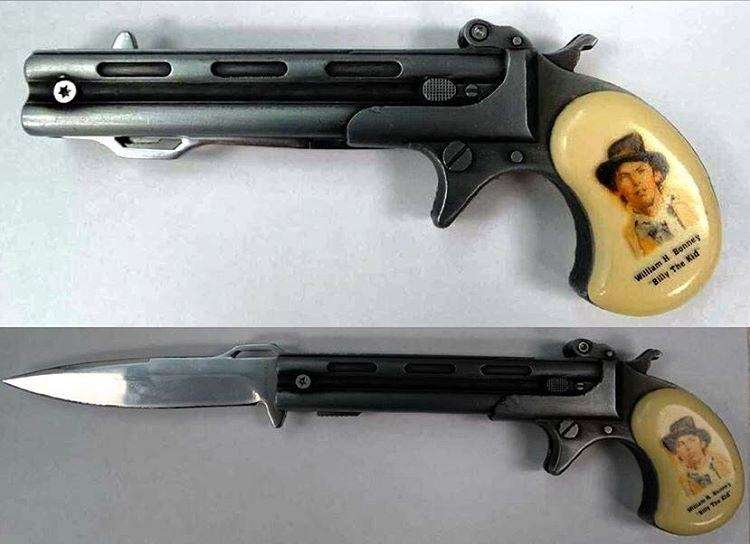 tsa Billy the Kid would know better than