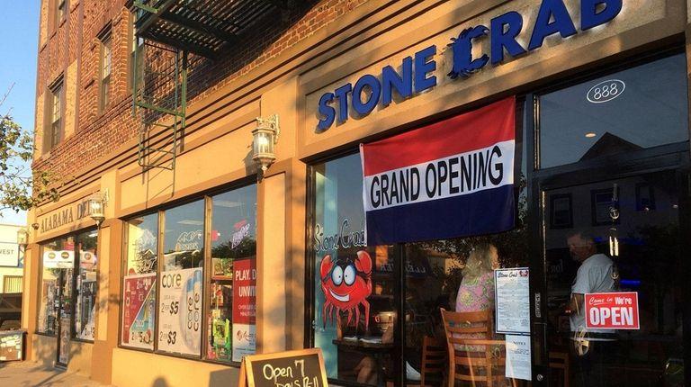 Stone Crab in Long Beach didn't last very