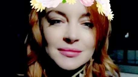 Lindsay Lohan says she will be living in