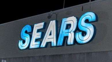 Exterior of Sears department store in Hicksville, Thursday,