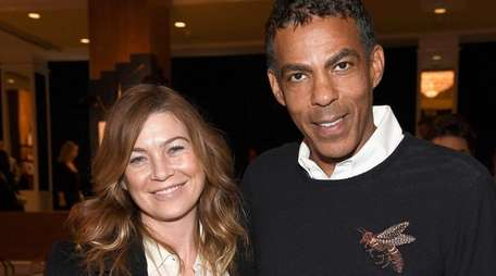 Actress Ellen Pompeo and music producer husband Chris