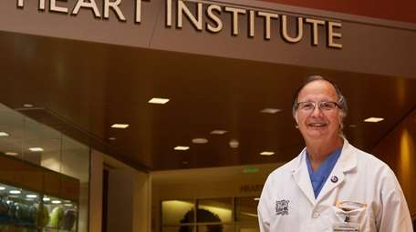 Dr. William Lawson, a cardiologist at Stony Brook
