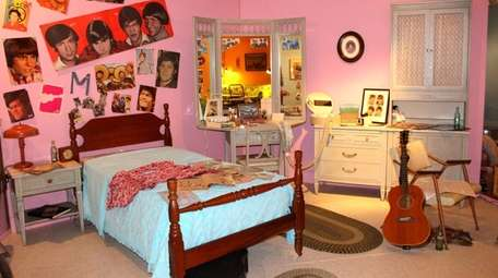 This vignette of a teenage girl's bedroom in