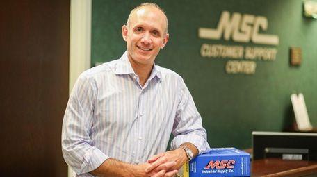 Erik Gershwind heads MSC Industrial Direct Co. in