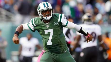 Geno Smith #7 of the New York
