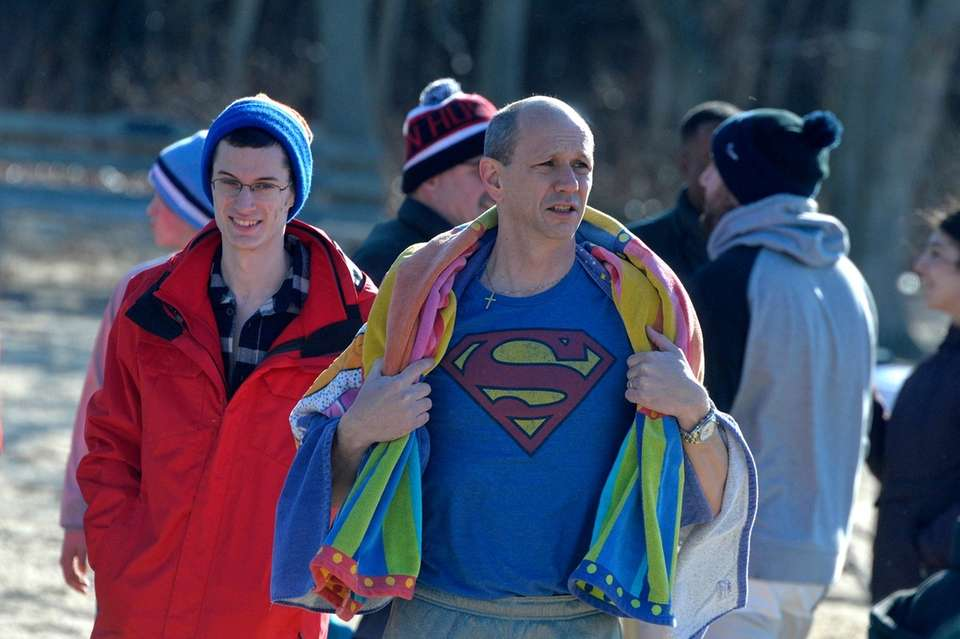 Jimmy Amato, 54, of Commack, and his son
