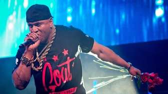 LL Cool J performs at the Barclays Center