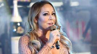 Mariah Carey performs at the New Year's Eve