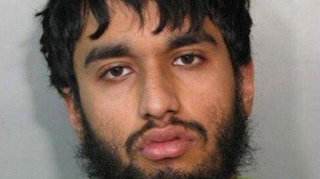 Huzaifa Shafeeq, 22, of Valley Stream, was arrested