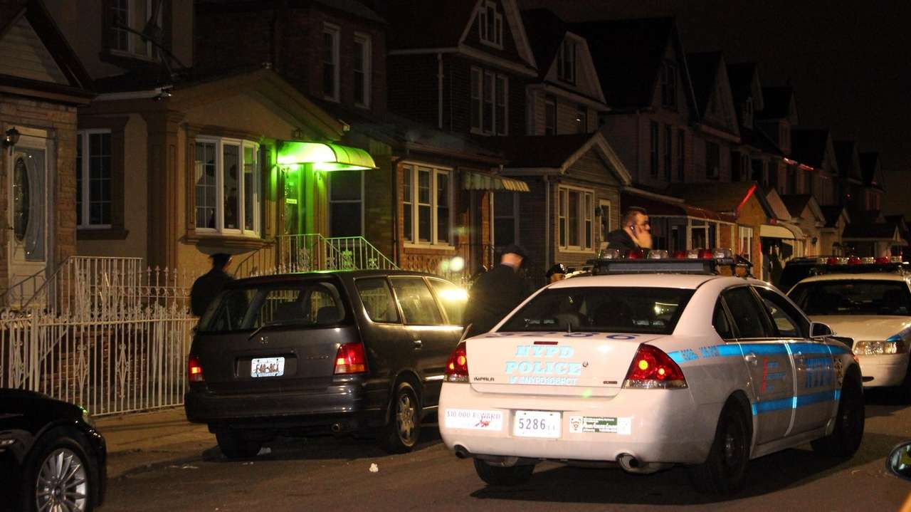 An early morning shooting in Ozone Park, Queens,