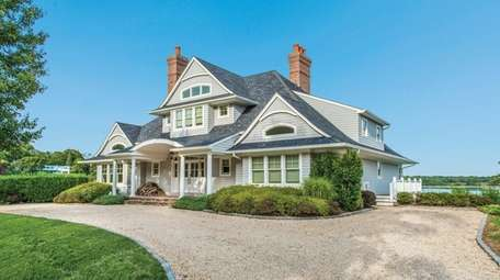 This Shelter Island traditional home, listed for $4.75