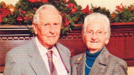 Donald and Doris Bayles of Southold celebrated their