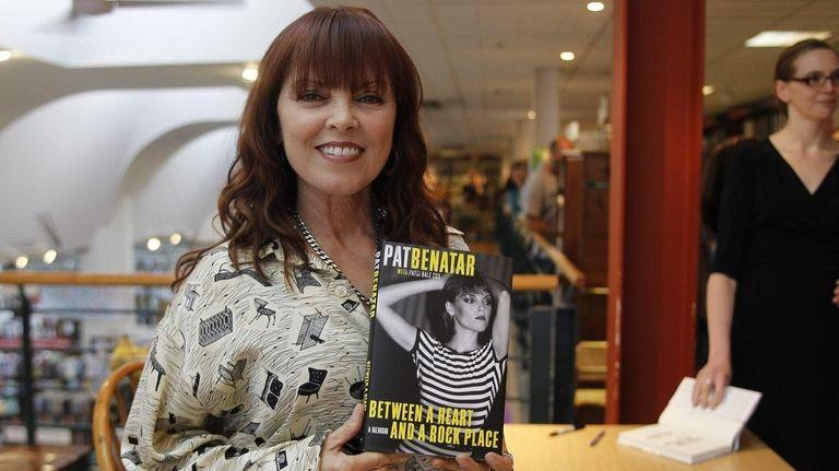 Multiple Grammy Award winner Pat Benatar signs her