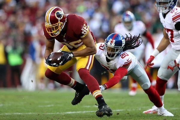 Tight end Jordan Reed of the Washington Redskins